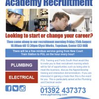 Fords SW Recruitment Morning - Friday 25th August