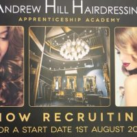 Andrew Hill Apprenticeship Academy recruiting now!!